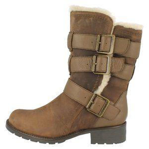 Clarks Orinoco Bloom fur lined Ankle Boots NIB 7.5